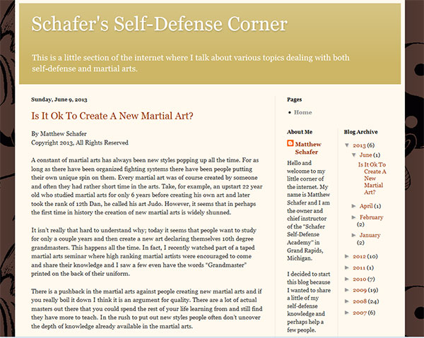 schafers-self-defense