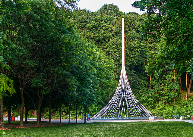 9-11 memorial at Kensico Dam Park