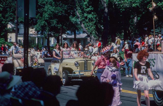 July Fourth Parade, Ridgewood, 1982