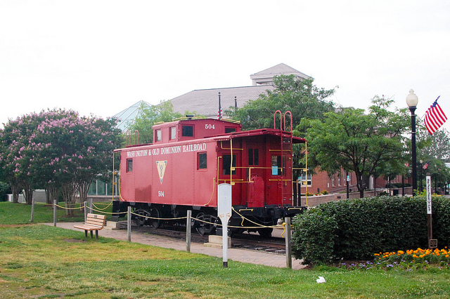 Washington & Old Dominion Railroad - Historic Herndon, VA