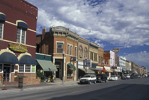 it0486 sheridan wy wyoming downtown