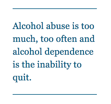 alcohol addiction and abuse study guide What is alcoholism  carol is the lead writer for alcohol rehab guide she is passionate about helping people who are struggling with alcohol abuse and addiction.