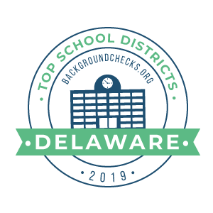 bc top school districts, 2019 - delaware - badge