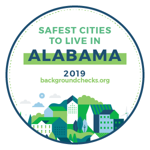 Safest Cities to Live in Alabama 2019