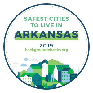 badge - safest_cities_arkansas_2019
