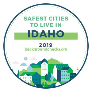 badge - safest_cities_idaho_2019