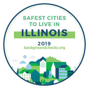 badge - safest_cities_illinois_2019