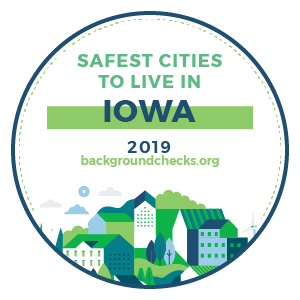 badge - safest_cities_iowa_2019