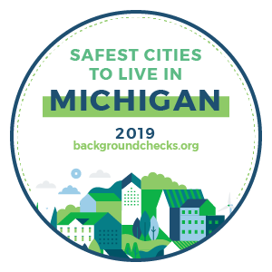 badge - safest_cities_michigan_2019