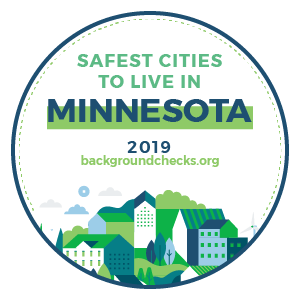 badge - safest_cities_minnesota_2019