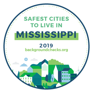 badge - safest_cities_mississippi_2019