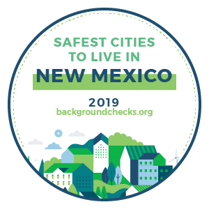 badge - safest_cities_new_mexico_2019