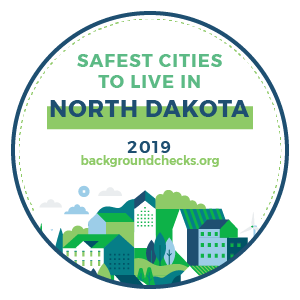 badge - safest_cities_north_dakota_2019