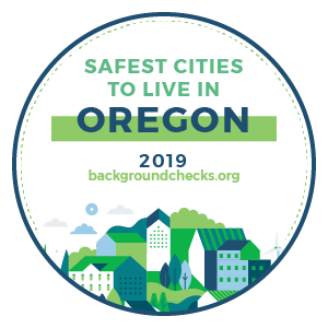 badge - safest_cities_oregon_2019