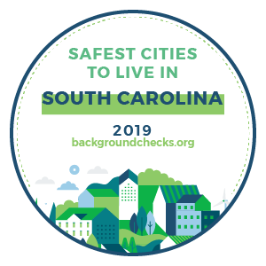 badge - safest_cities_south_carolina_2019
