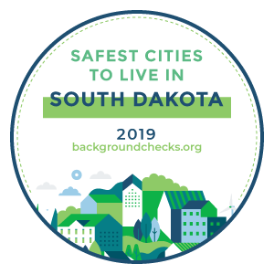 badge - safest_cities_south_dakota_2019