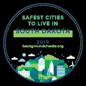 badge - safest_cities_south_dakota_2019